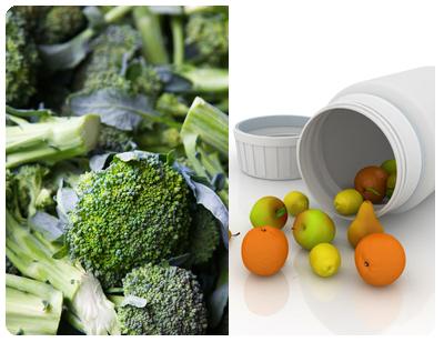Baljväxter, gröna bladgrönsaker, kål, bär, frukter och rotfrukter är bra källor till folat.