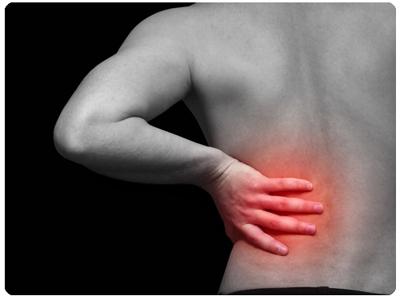 njursten ont i ryggen