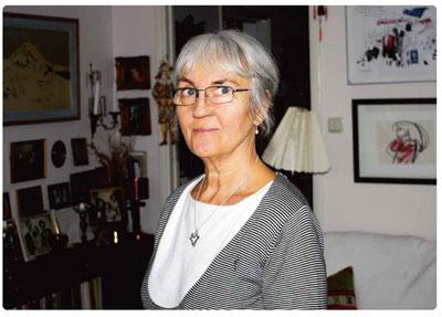 Vivi Brisborg-Lind är lyckligt lottad trots att hon har Alzheimer