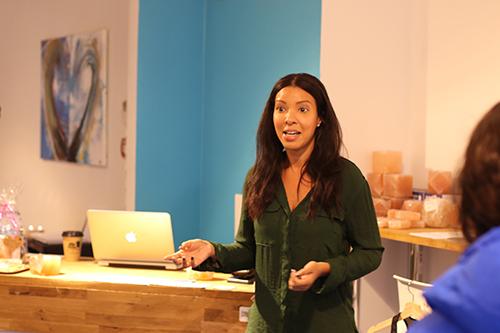 Aicha Gaye, vd och delägare Stockholms Saltspa