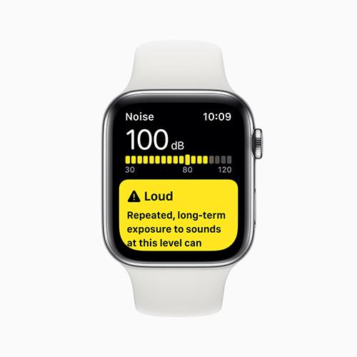 Apples hörselstudie samlar in data över tid för att förstå hur människors hörsel påverkas av de ljud som vi utsätts för i vardagen.