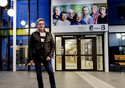 Christer Fällman, initiativtagare och grundare av Regnbågen, landets, och även Europas, första seniorboende för homo-, bi- och transsexuella.
