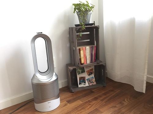 Dyson Pure Hot+Cool Link är en kombinerad luftrenare och värmefläkt som renar, svalkar och värmer luften.