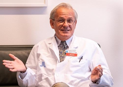 Francesco Cosentino, hjärtforskare, professor och överläkare vid Karolinska institutet. Foto: Mattias Hellström