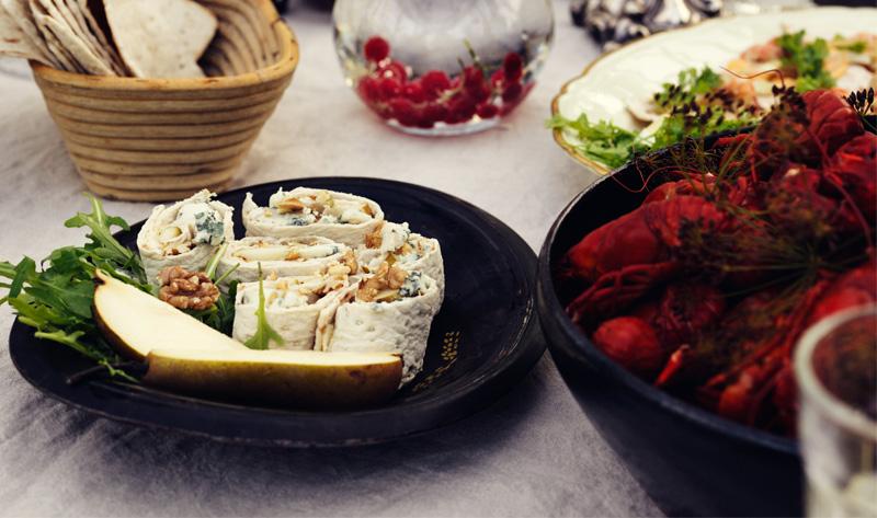 Gorgonzolasnittar_kräftor kräftskiva tillbehr veckans recept mat och hitta fler matrecept Bildkälla_Polarbröd.jpg