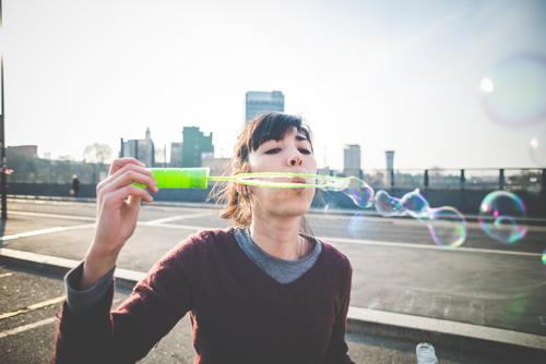 För den som lider av lungfibros kan en enkel sak som att blåsa bubblor vara en utmaning.