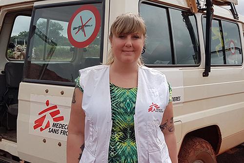Mia Hejdenberg har flera års erfarenhet från att jobba på fältet som sjuksyster, projektansvarig och på senare tid landsansvarig för organisationen Läkare utan gränser.