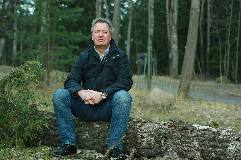 Michael Hellman, 59 år, var en av de olycksdrabbade när han i februari 2016 fick diagnosen. Foto: Björn Markusson