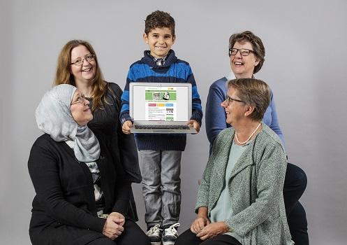 Dagboken är ett digitalt kommunikationsverktyg för barn, unga och vuxna med behov av kognitivt stöd.
