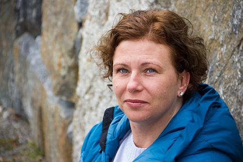 Marie-Louise Broth, samtalsterapeut och krönikör i tidningen Doktorn. Foto: Thomas Broth Jendervall