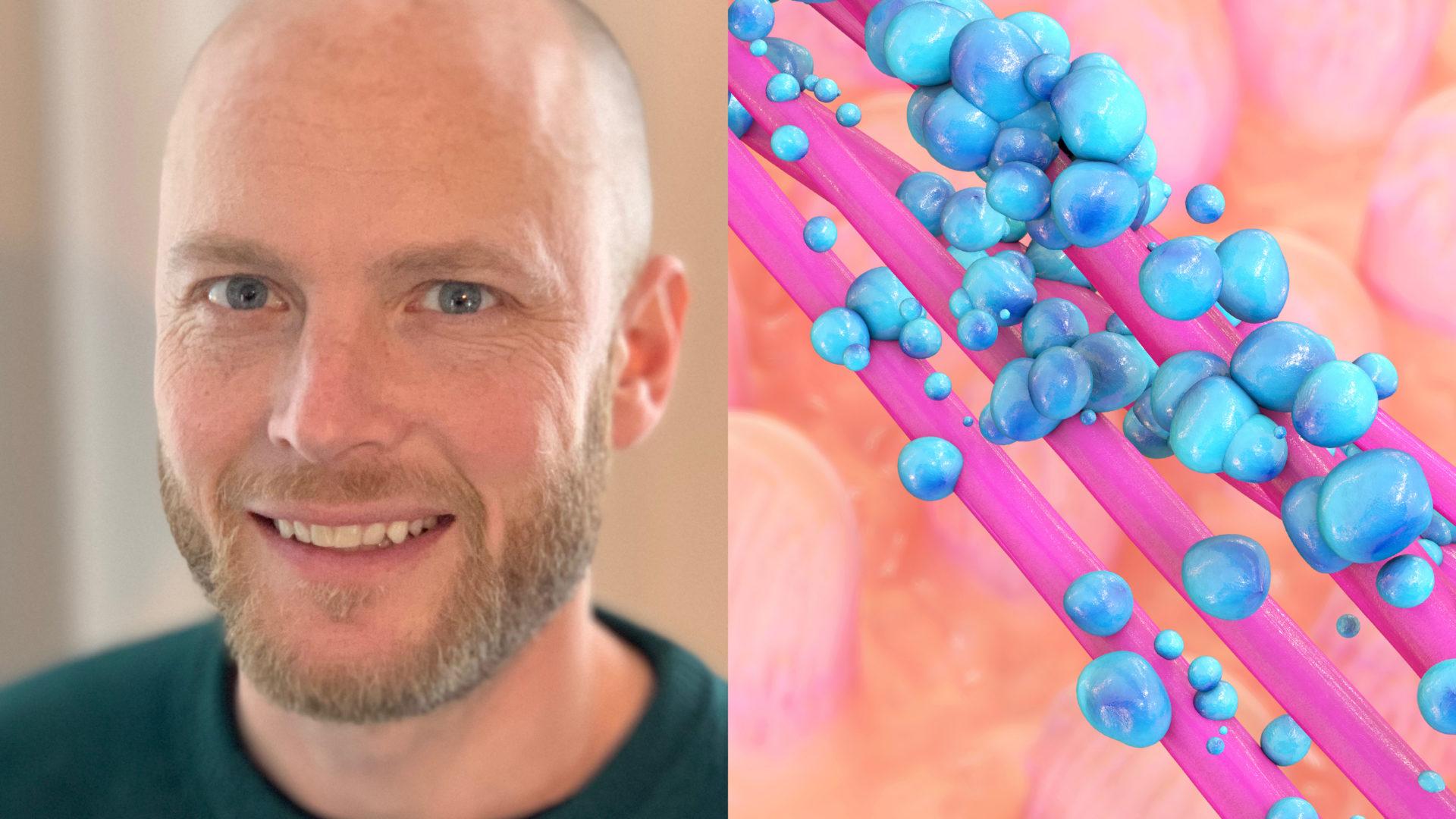 Vis av erfarenhet och kunskap konstaterar Villjam Edström att han själv har gjort flera livsstilsförändringar för att komma till rätta med sin egen maghälsa.