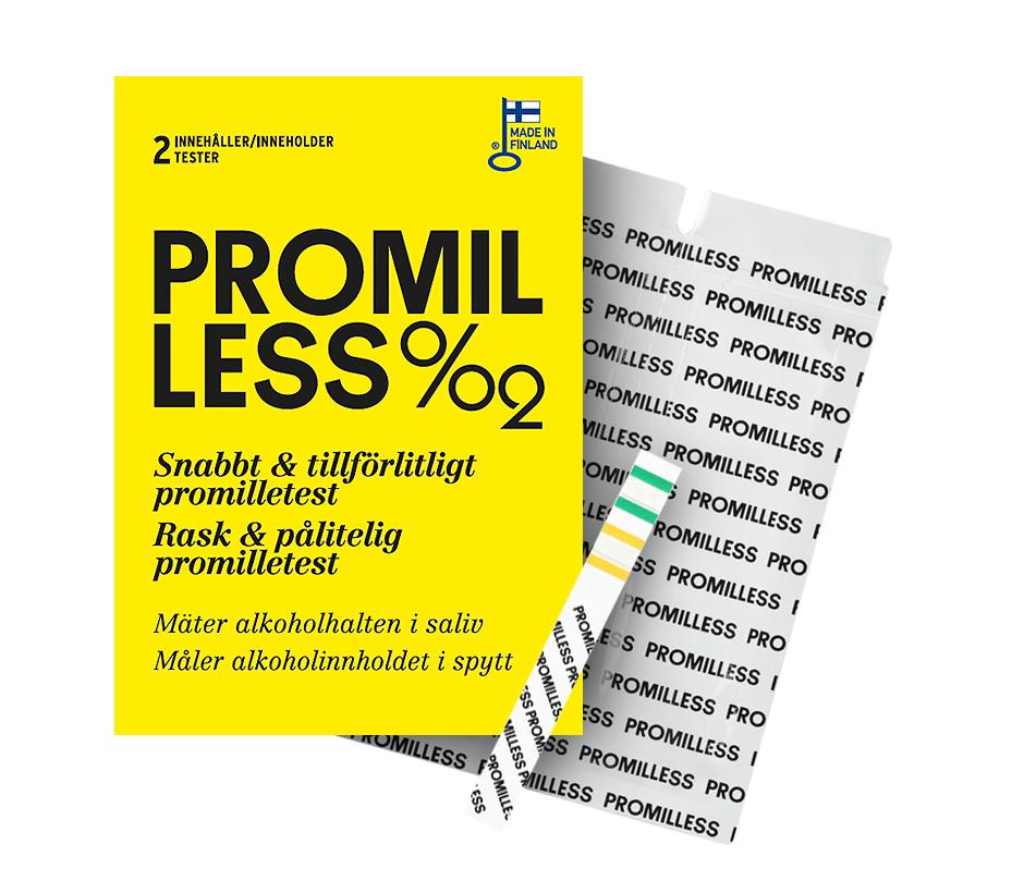 Promilless är utvecklad och produceras i Finland och är den första produkten i sitt slag för konsumenter.