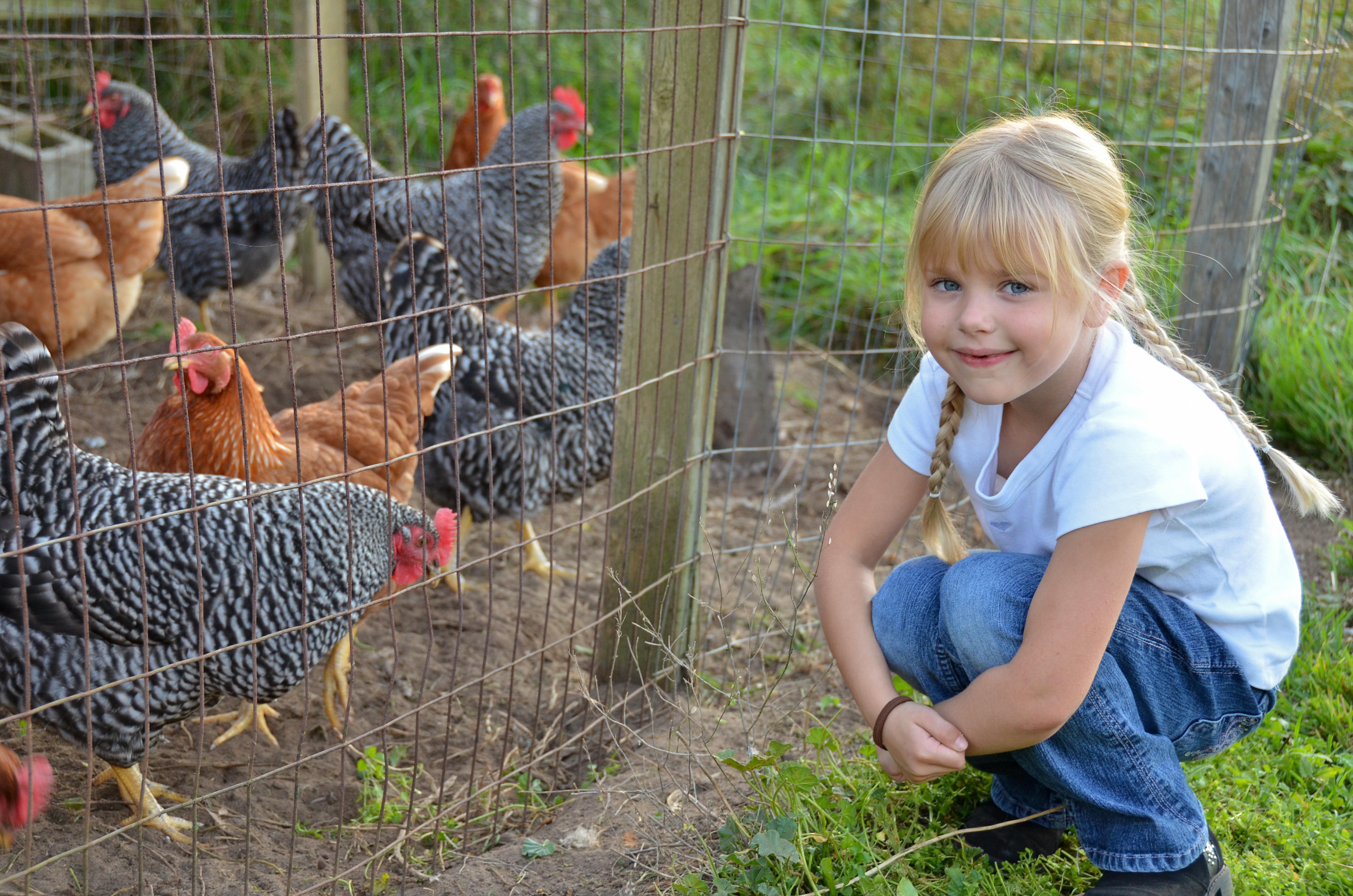 Barn som växte upp på en bondgård hade en lägre tendens att utveckla allergi.