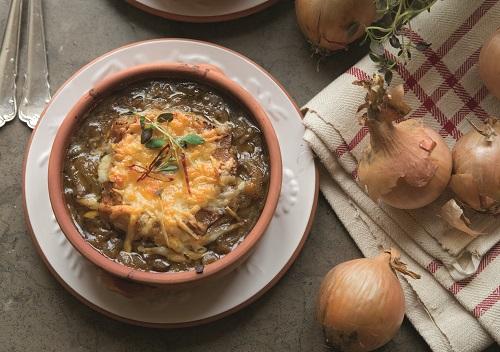 gratinerad löksoppa allt om mat