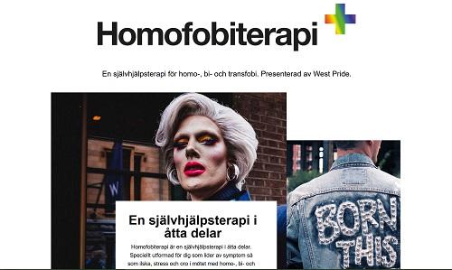 Homofobiterapin är utarbetad av sakkunnig psykolog och grundar sig behandlingen i en inlärningsteori.