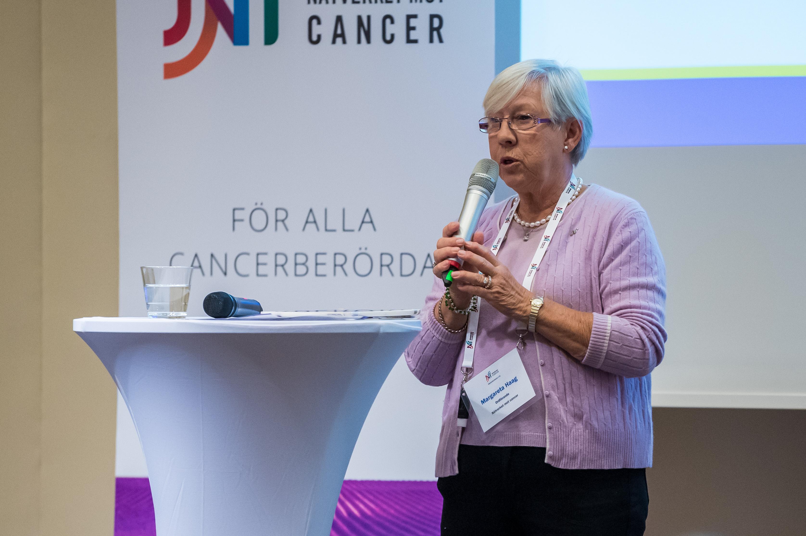 Nätverket mot cancer har cancerprevention som en prioriterad fråga på dagordningen.