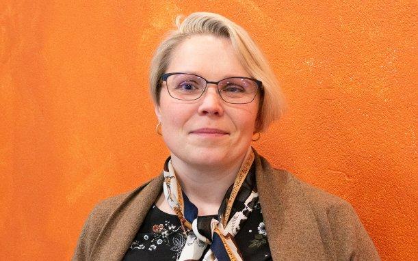 Marie Asp, en av forskarna bakom en studie om svårbehandlad depression och samsjuklighet. Foto: Katrin Ståhl