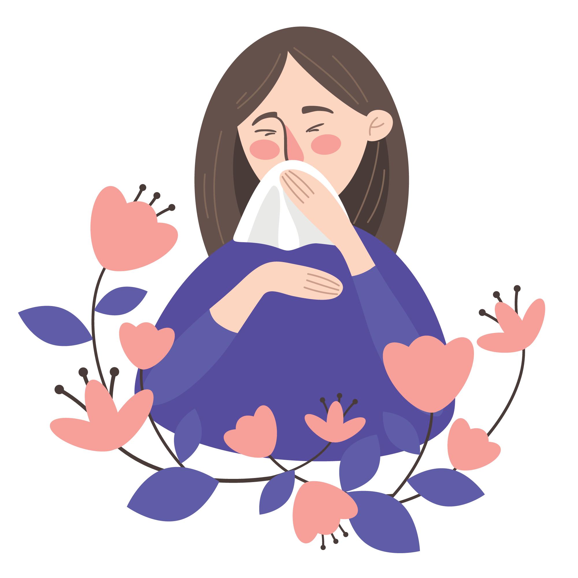 Även om pollenallergi och covid-19 inledningsvis kan vara snarlika en vanlig förkylning finns det tydliga skillnader.