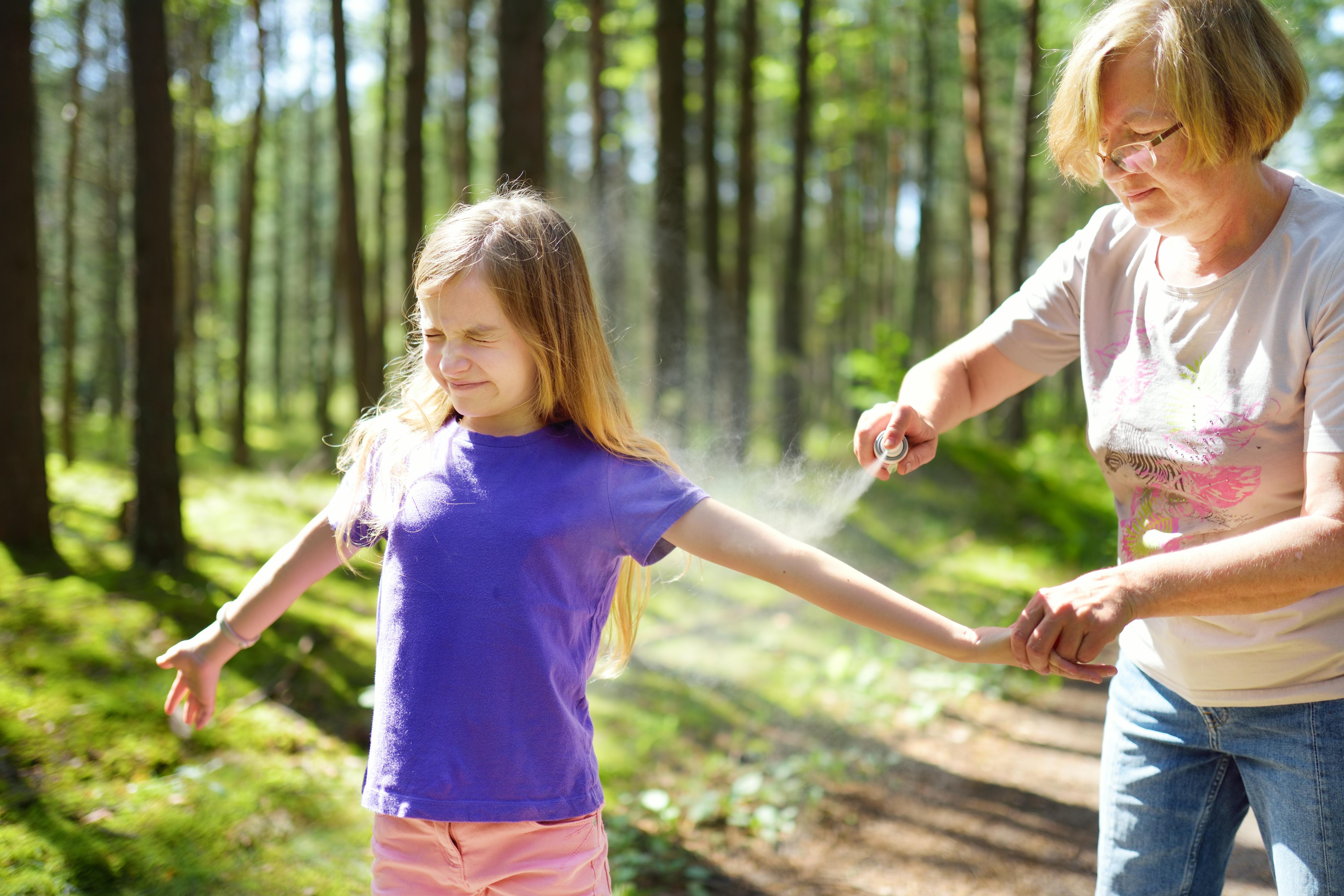 Vissa människor är mer känsliga än andra och får kraftigare reaktioner av myggbett.