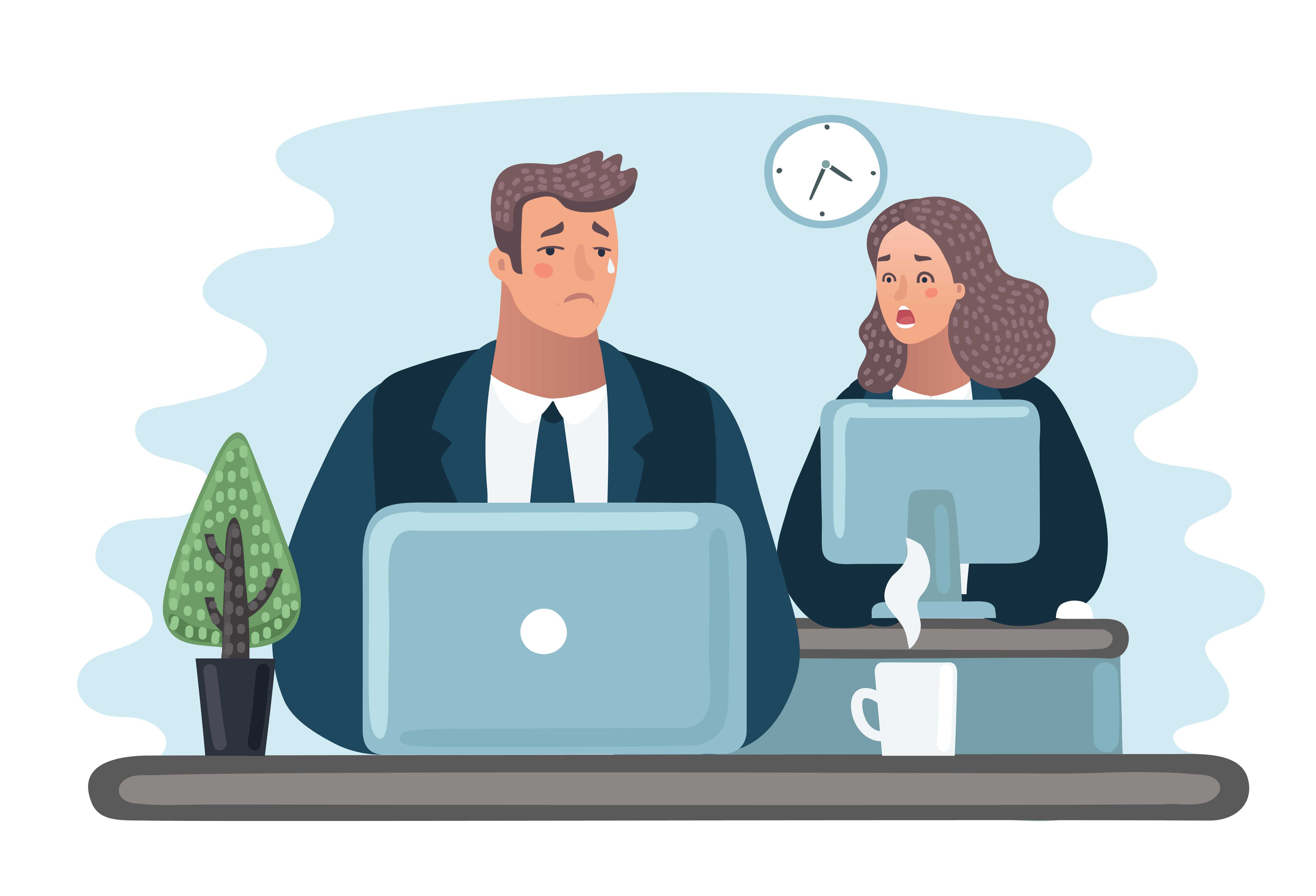 Personer i chefsposition men även fler män än kvinnor uppgav att de utsattes för arbetsrelaterad nätmobbning.