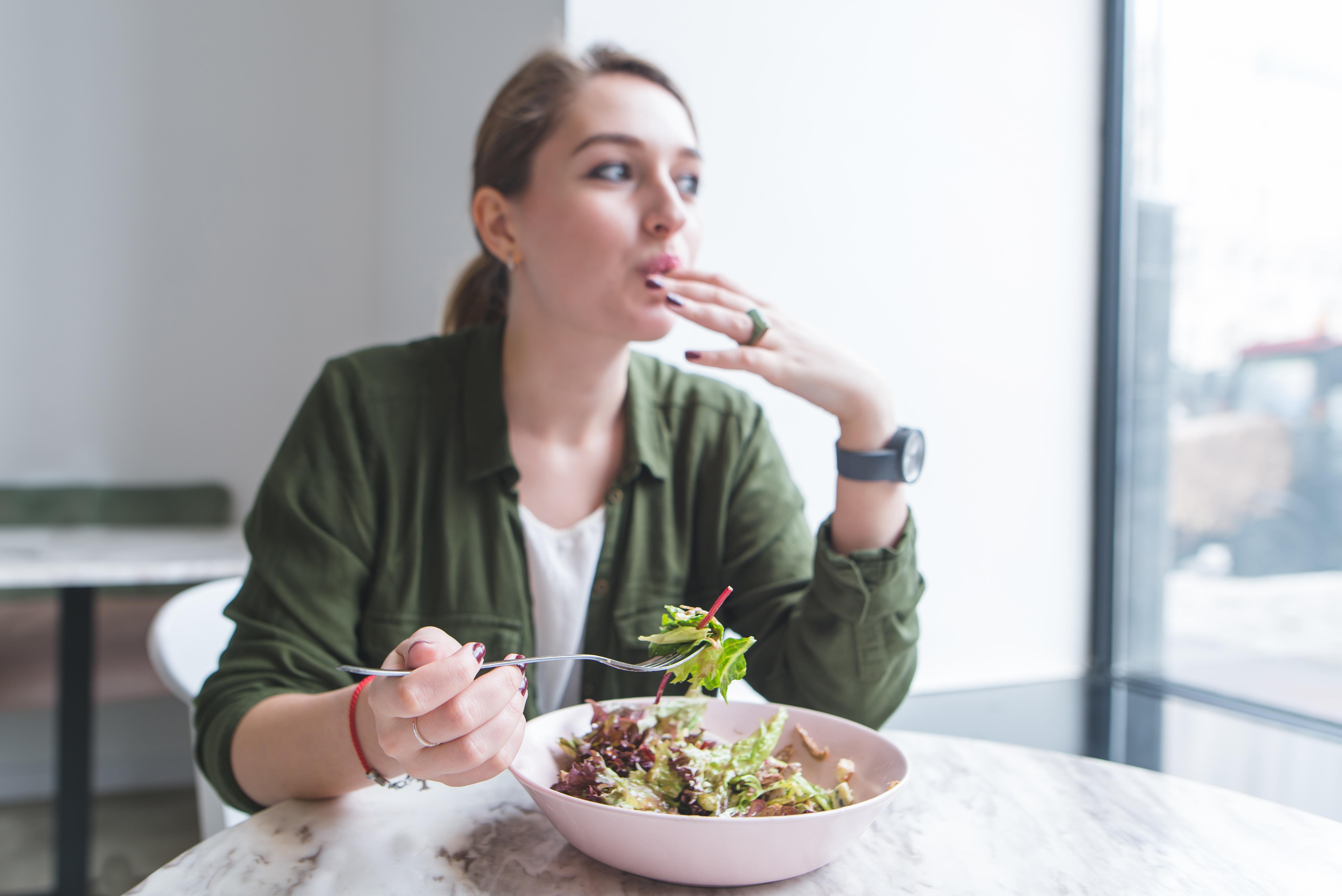 Större chans till god hälsa genom att äta näringsrik mat.