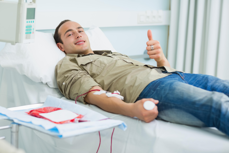 Att ge blod är verkligen en insats som kan rädda liv - och det behövs ständigt nya blodgivare.