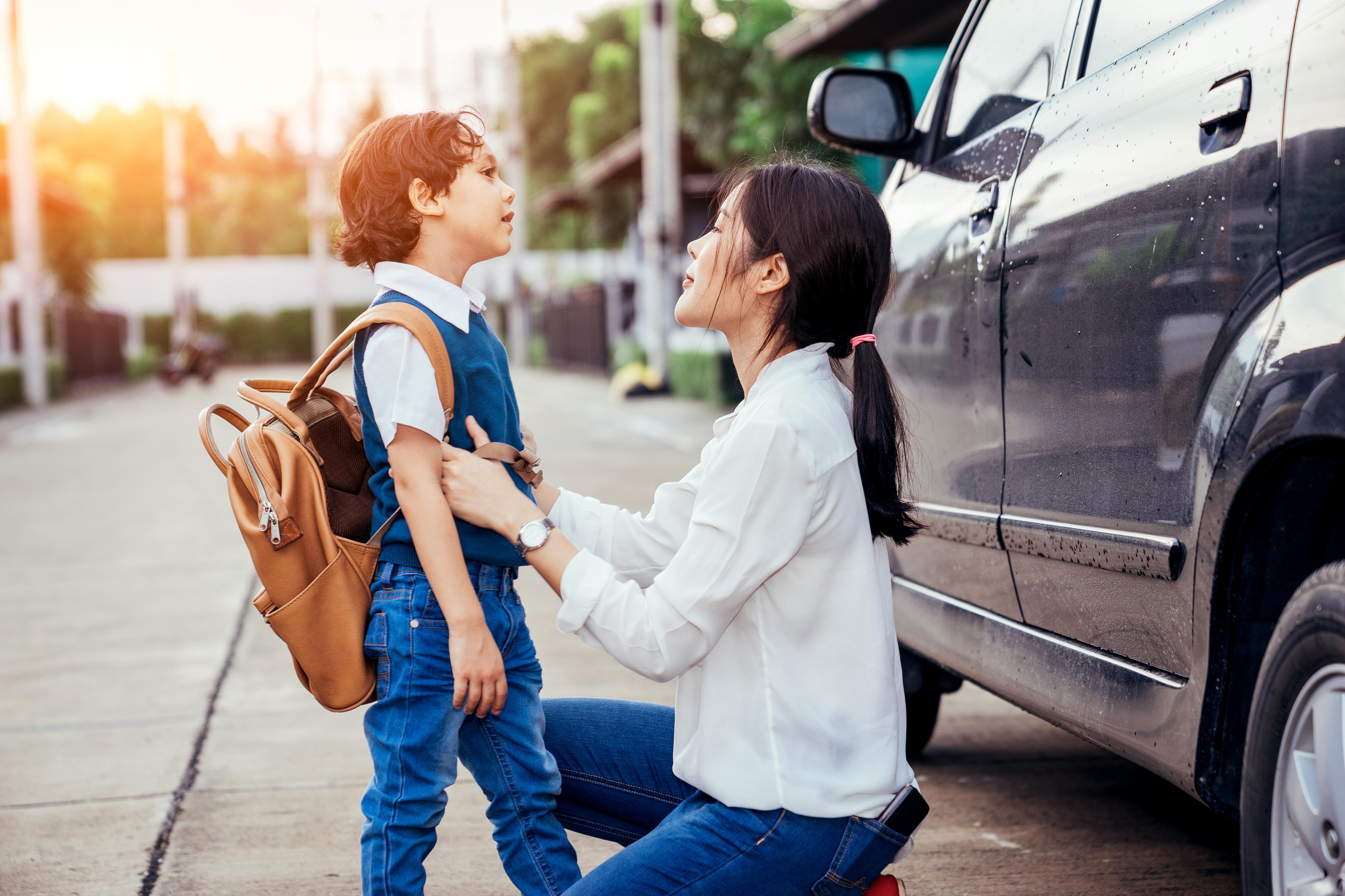 En undersökningen från Ipren visar att en tredjedel, 33 procent, av alla svenska föräldrar upplever att terminsstarten gör dem stressade.