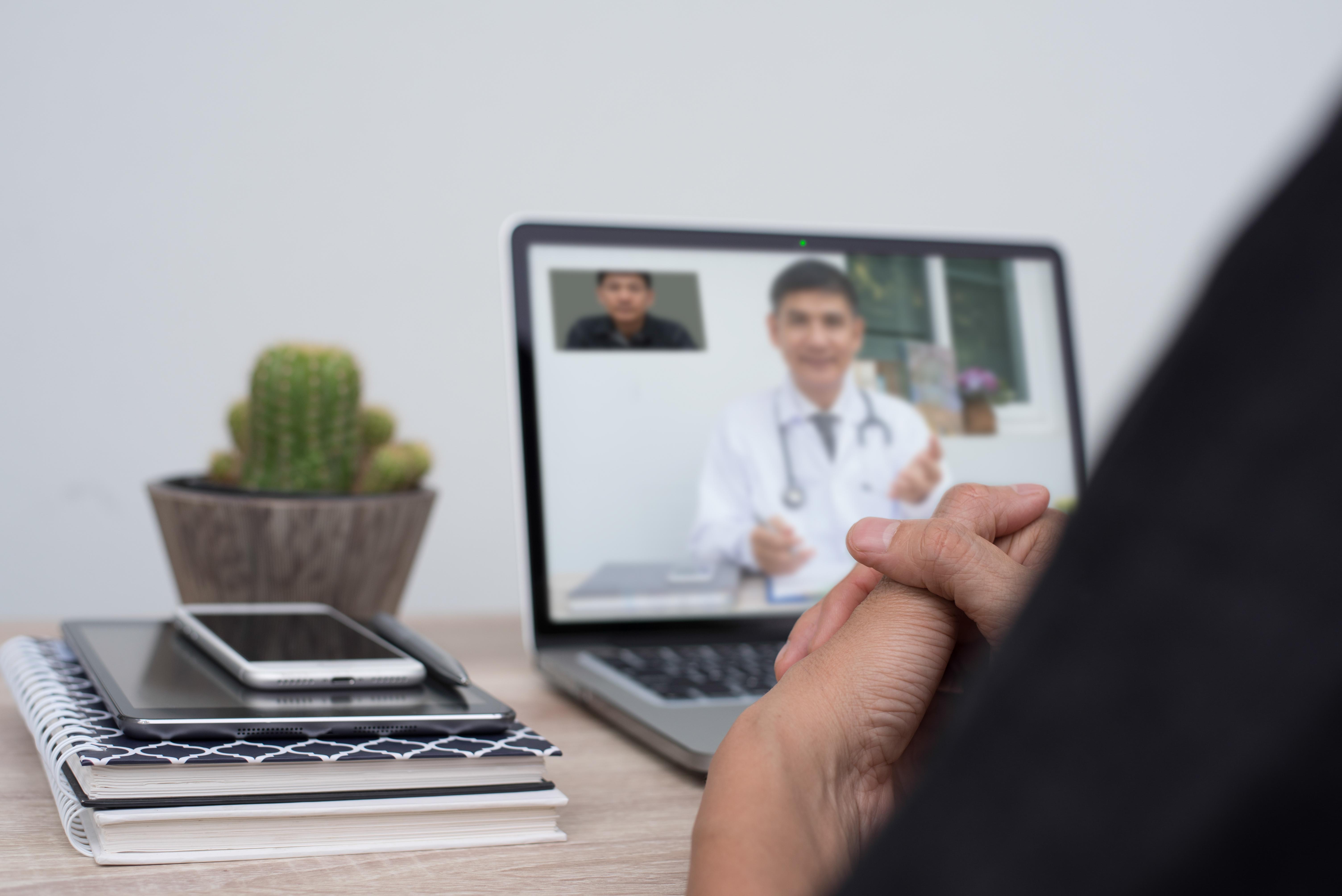 Många tycker att det bästa med digitala vårdmöten är att snabbt få kontakt med en läkare, och att slippa ta ledigt från jobbet eller åka iväg med ett sjukt barn till en mottagning.