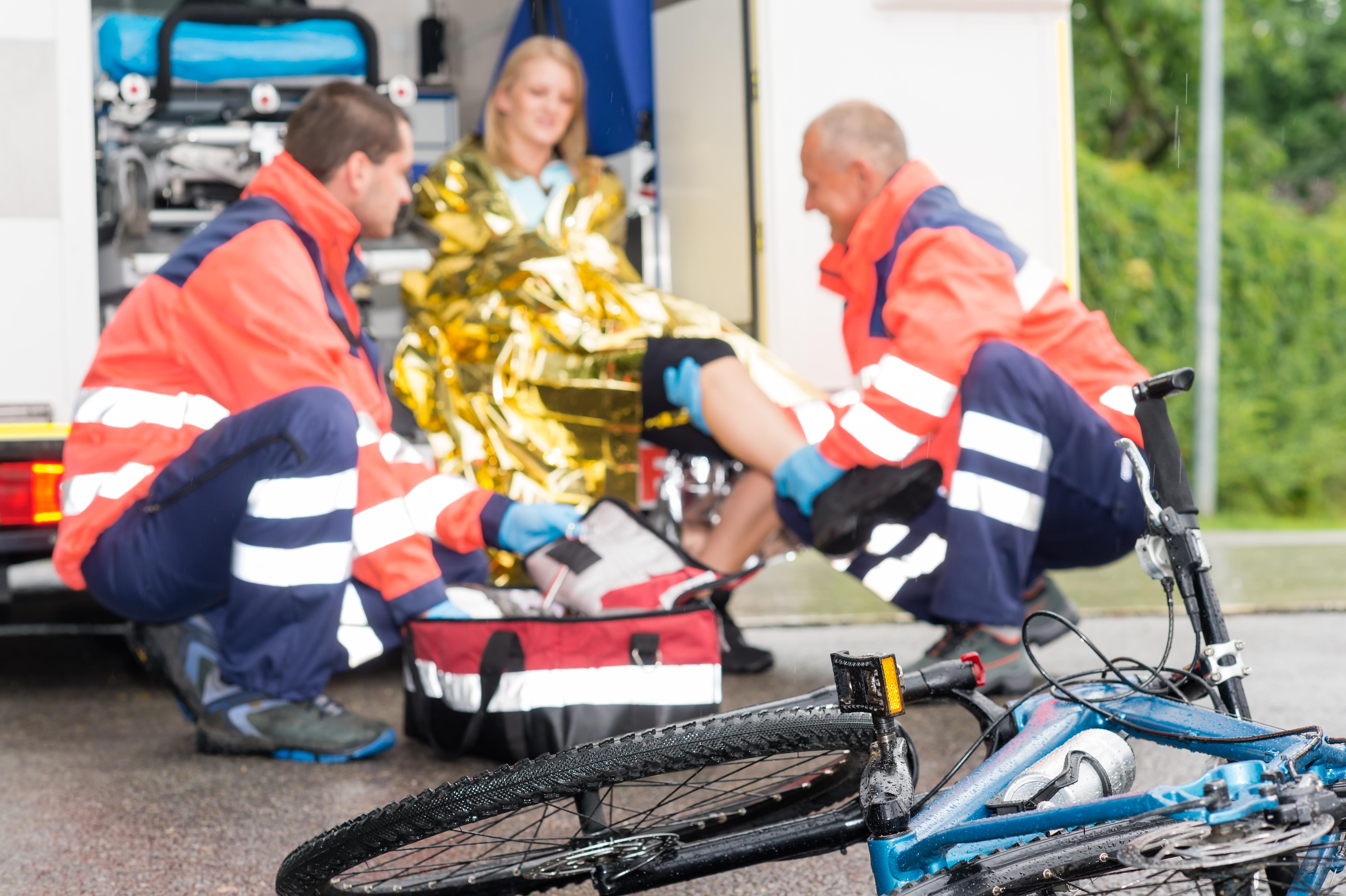 I Sverige står cyklister för närmare hälften av alla allvarliga trafikskador.