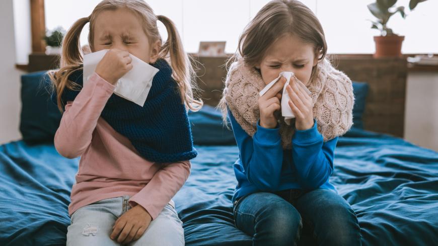 hur länge smittar förkylningsvirus
