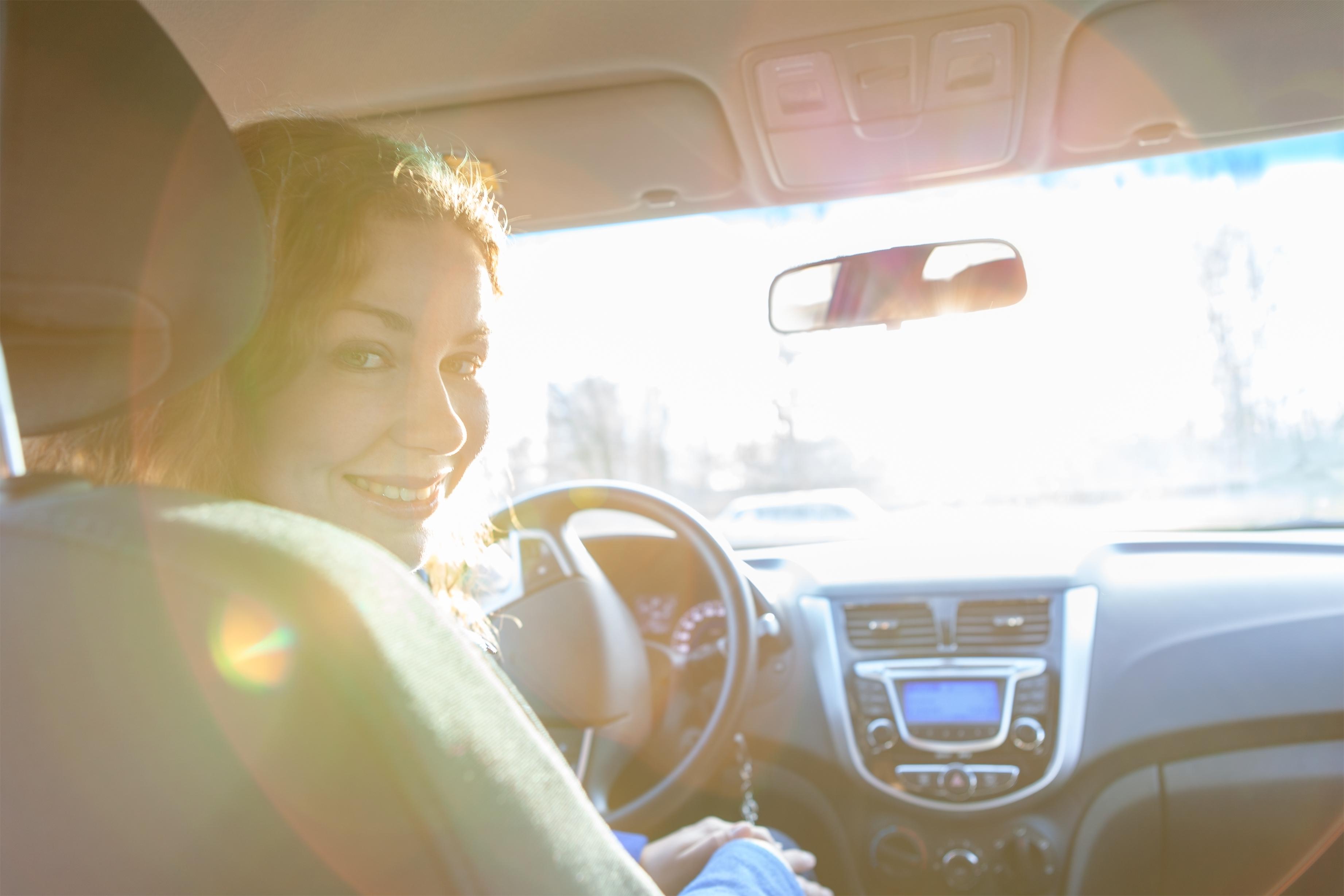 Volvo anses som en av de säkrare bilarna för såväl män som kvinnor.