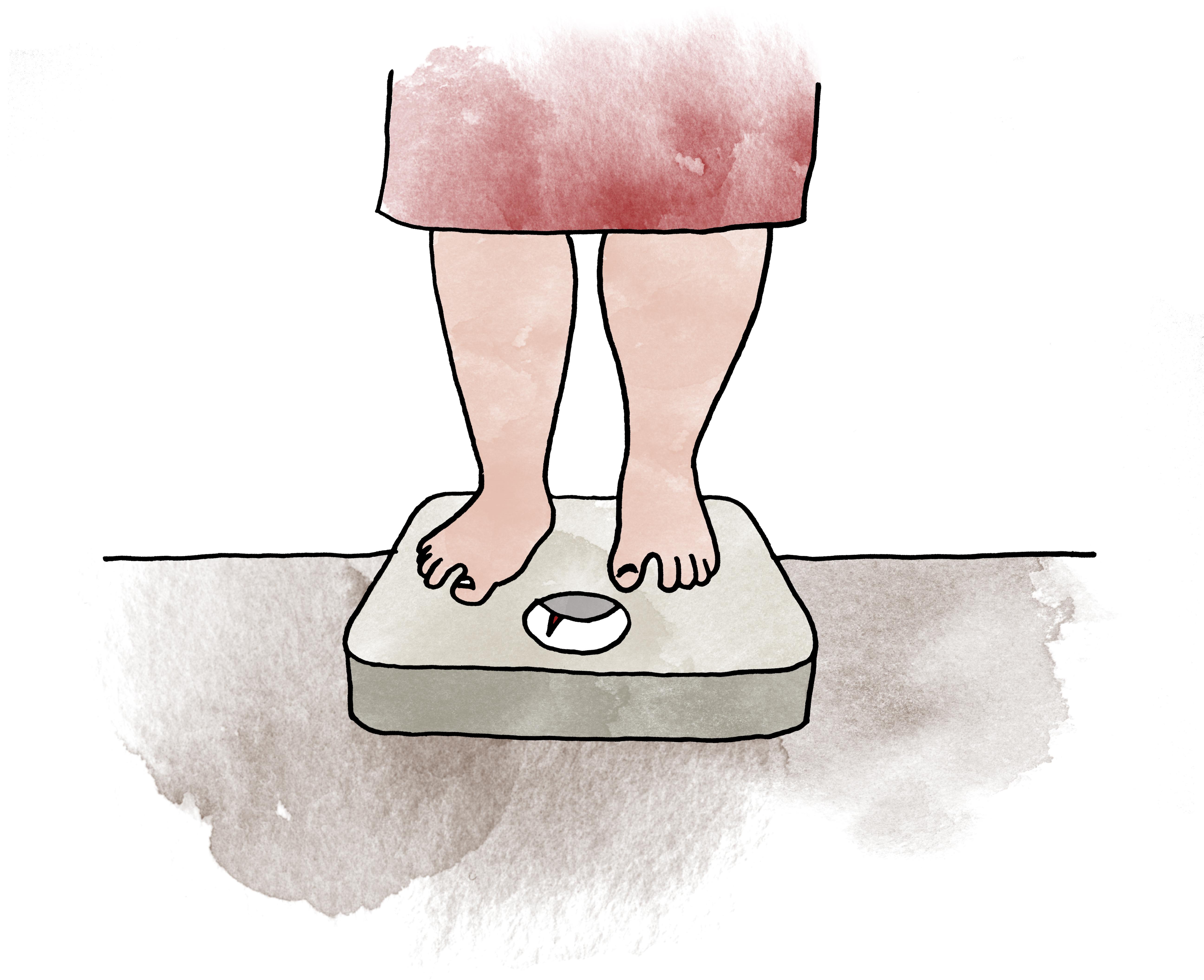 Övervikt är ingen sjukdom men det är däremot fetma. Den som har övervikt riskerar att utveckla fetma.