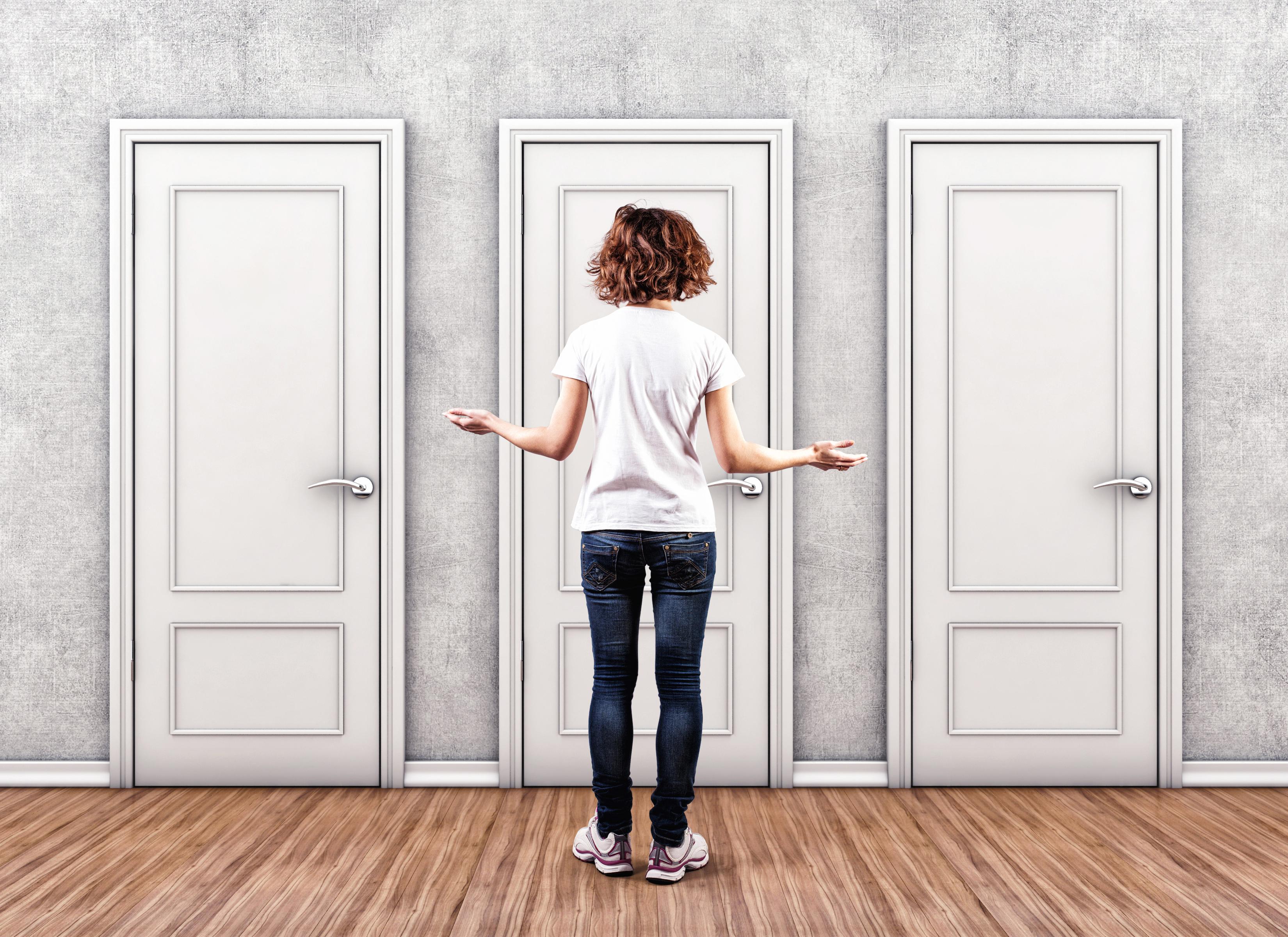 Utmaningar och svårigheter i livet ställer oss inför minst två olika val – agera eller inte agera.