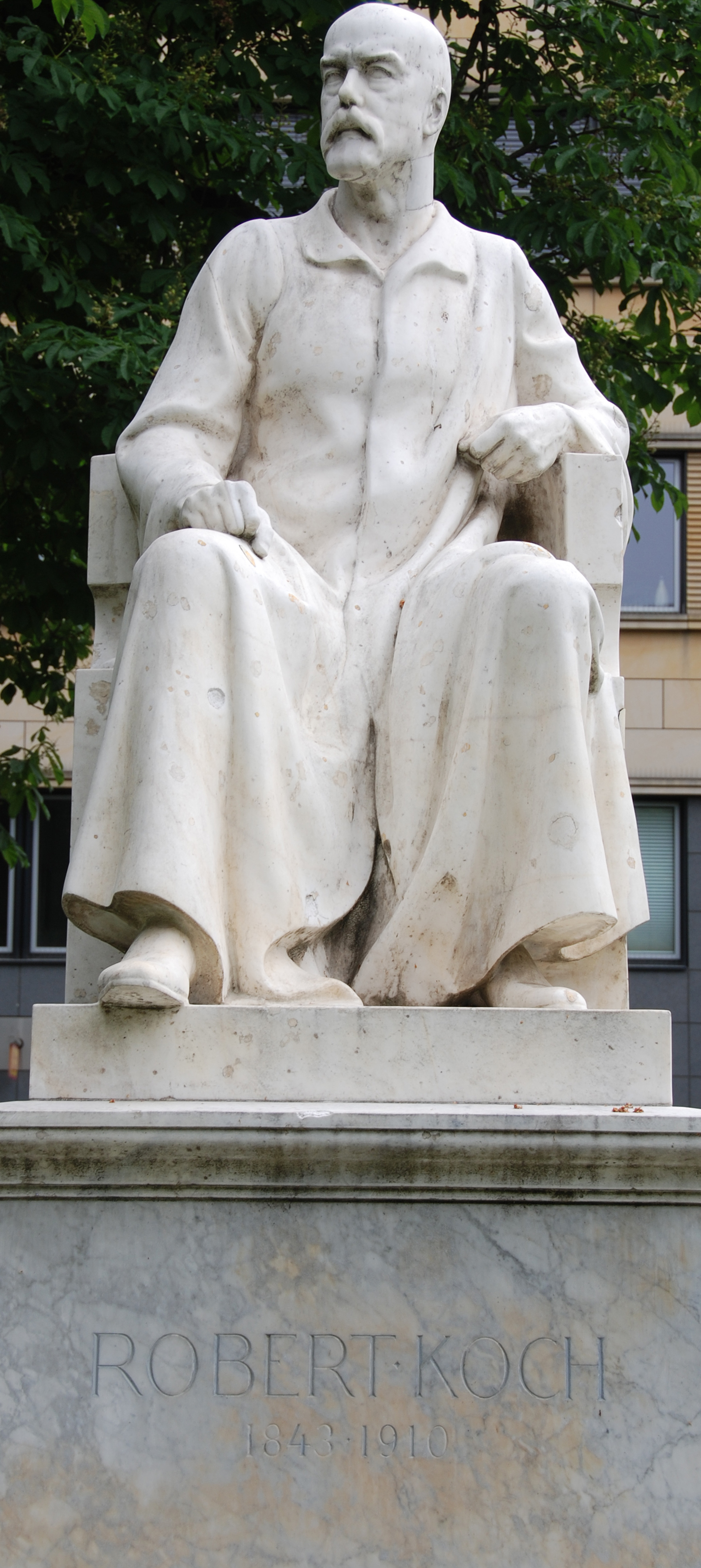 Robert Kochs största upptäckt var påvisandet av orsaken till tuberkulos.