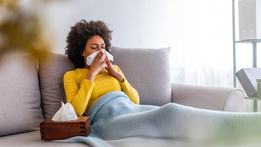 tecken på förkylning