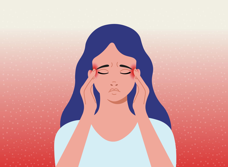 Vid migrän har man ofta en intensiv och sprängande värk som sitter vid ena ögat eller sidan av huvudet.