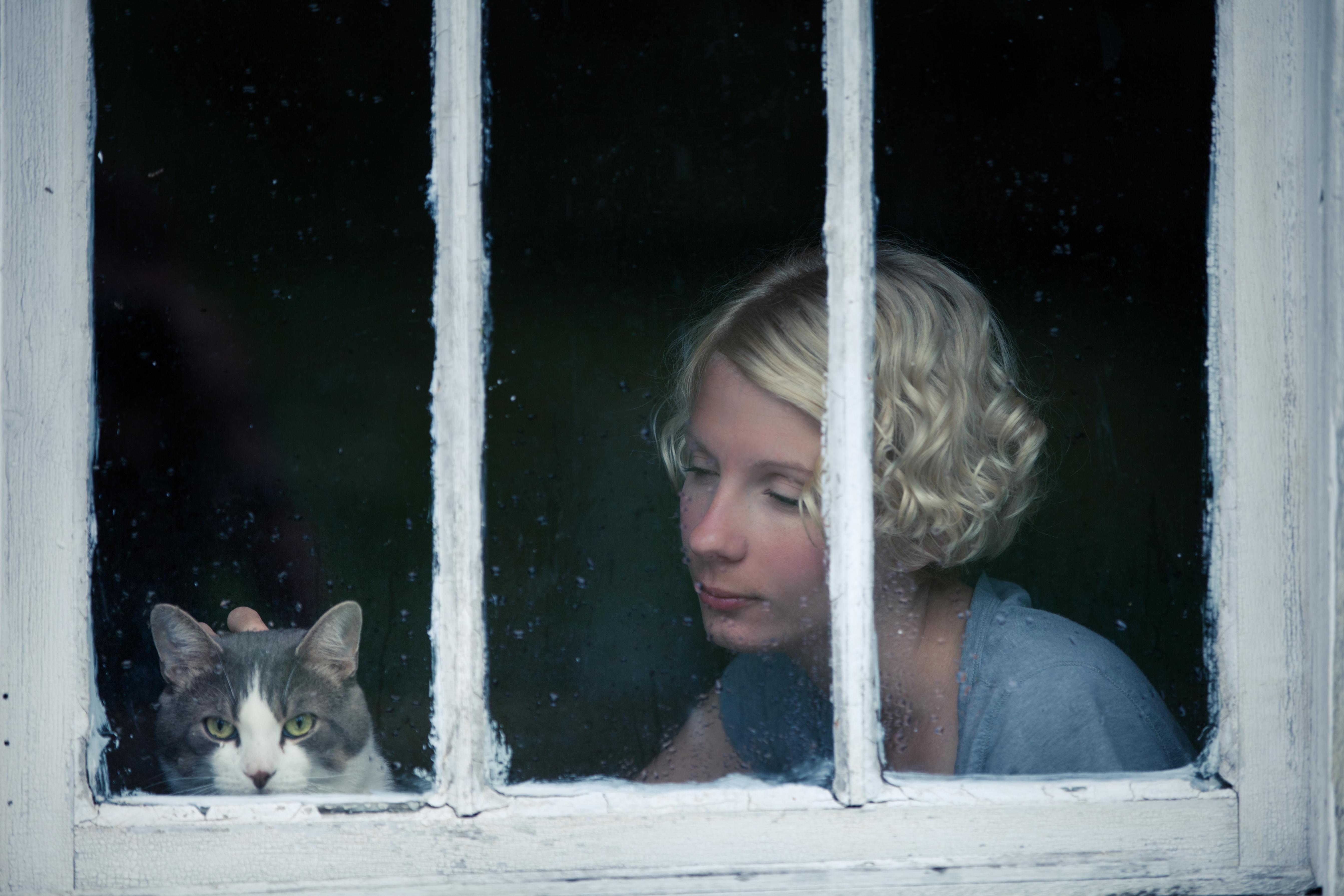 Katter som är deppiga visar det ofta genom att bete sig onormalt.