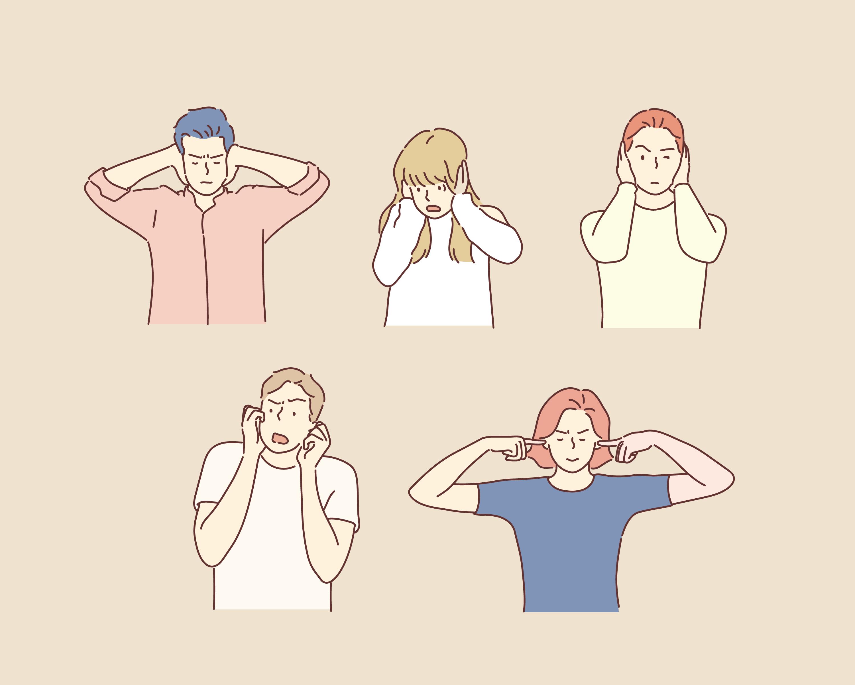 Ljudöverkänslighet kan orsakas av många olika faktorer, såväl fysiska som psykiska.