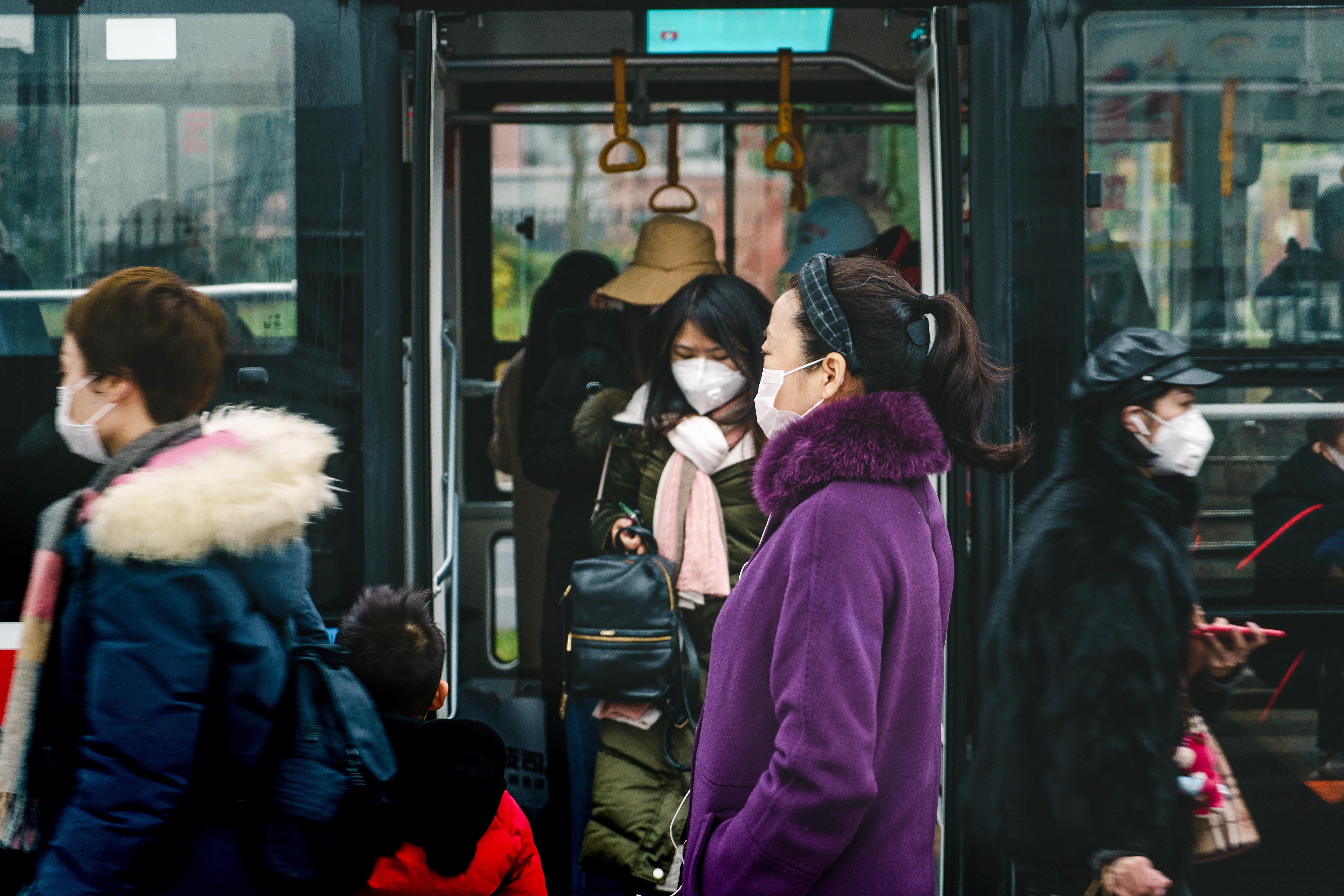 Virusutbrottet startade i Wuhan, Kina.