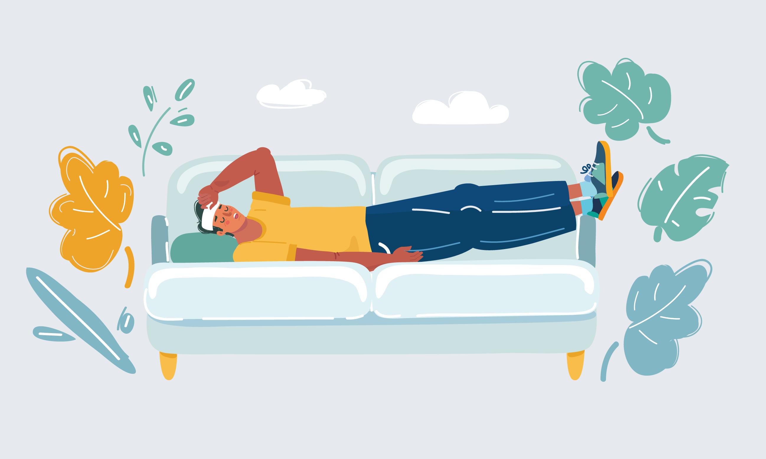Inte bara nu utan alltid gäller att om du är sjuk, stanna hemma.