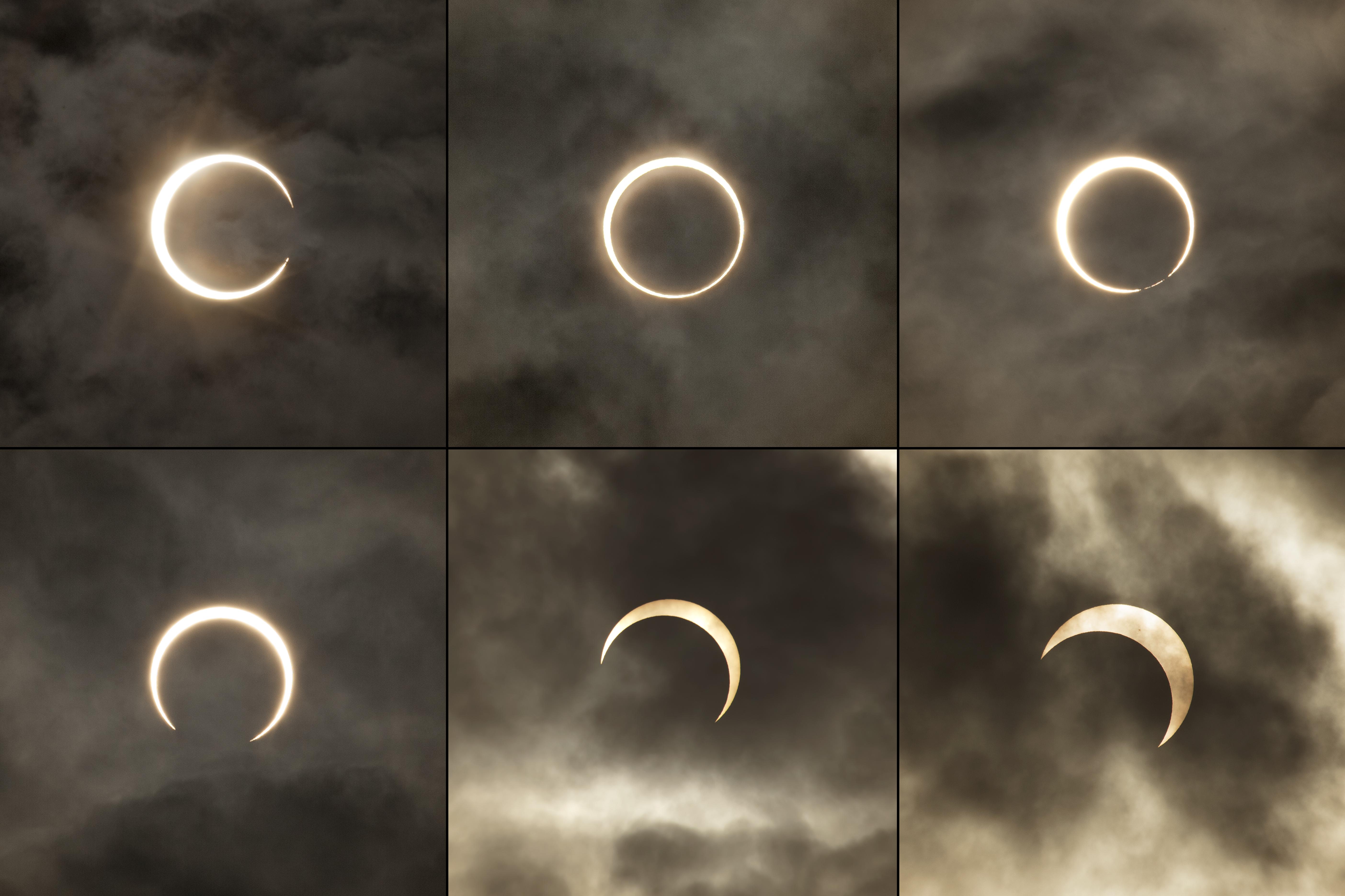 En solförmörkelse innebär att månen passerar mellan jorden och solen och skapar en skugga över jorden.