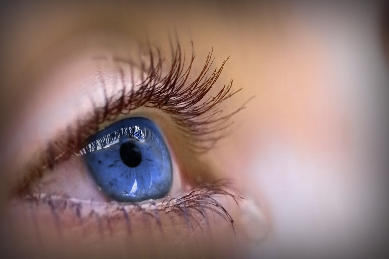 ett rinnande öga