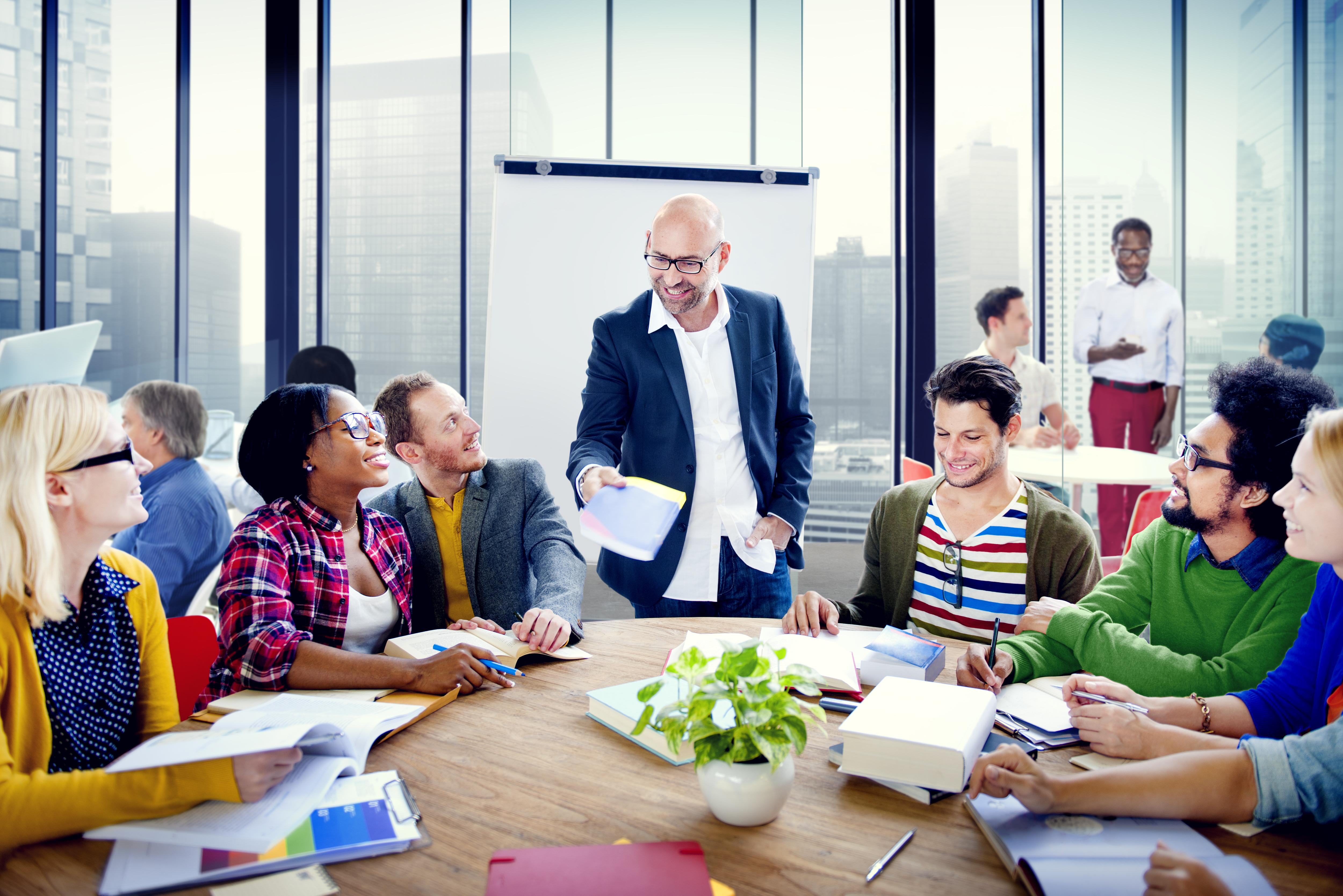 Ett gott ledarskap är en av friskhetsfaktorerna bakom en sund arbetsplats.