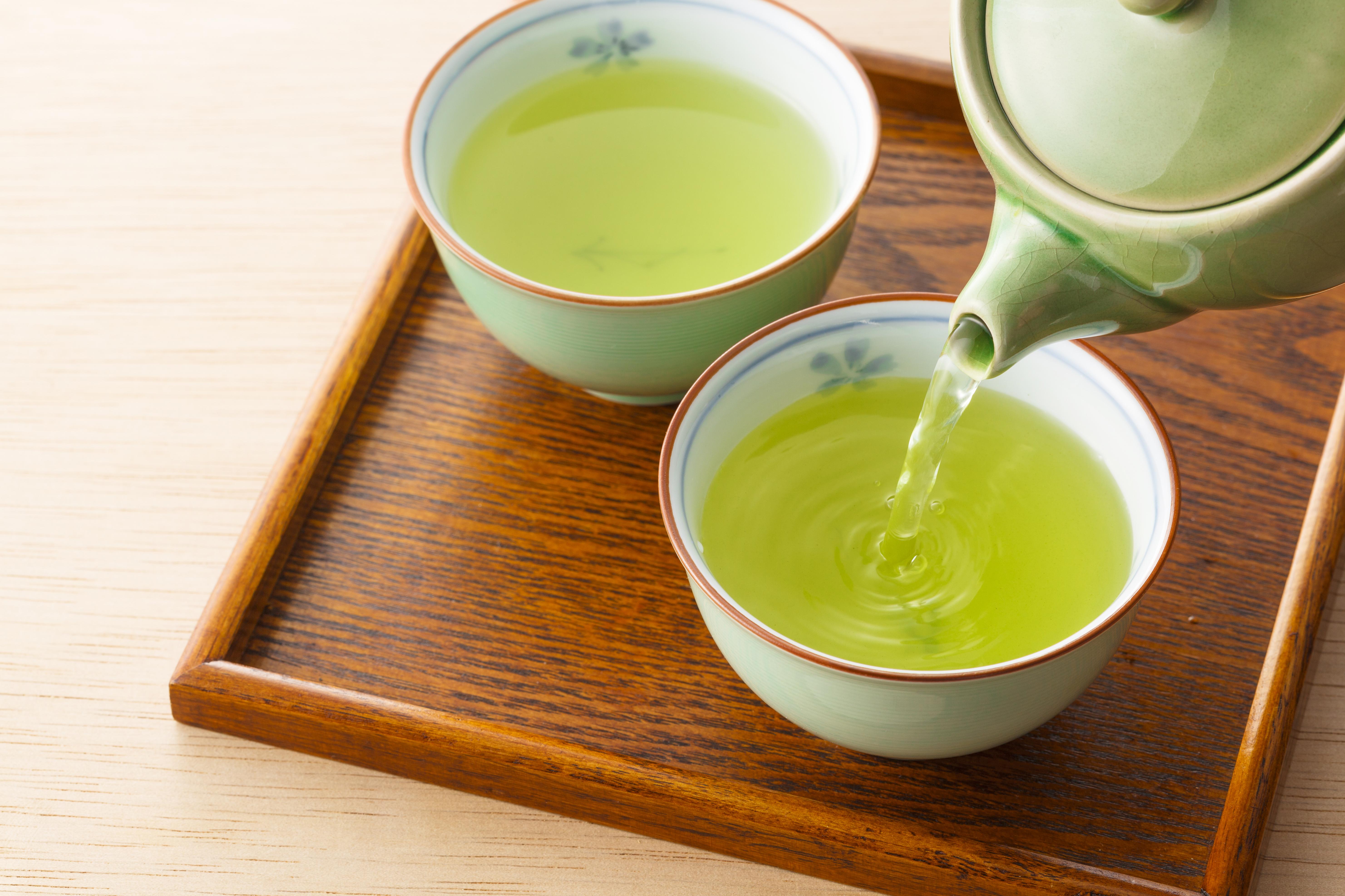 Ämnet Eipigallokatekingallat som är särskilt vanligt förekommande i grönt te.