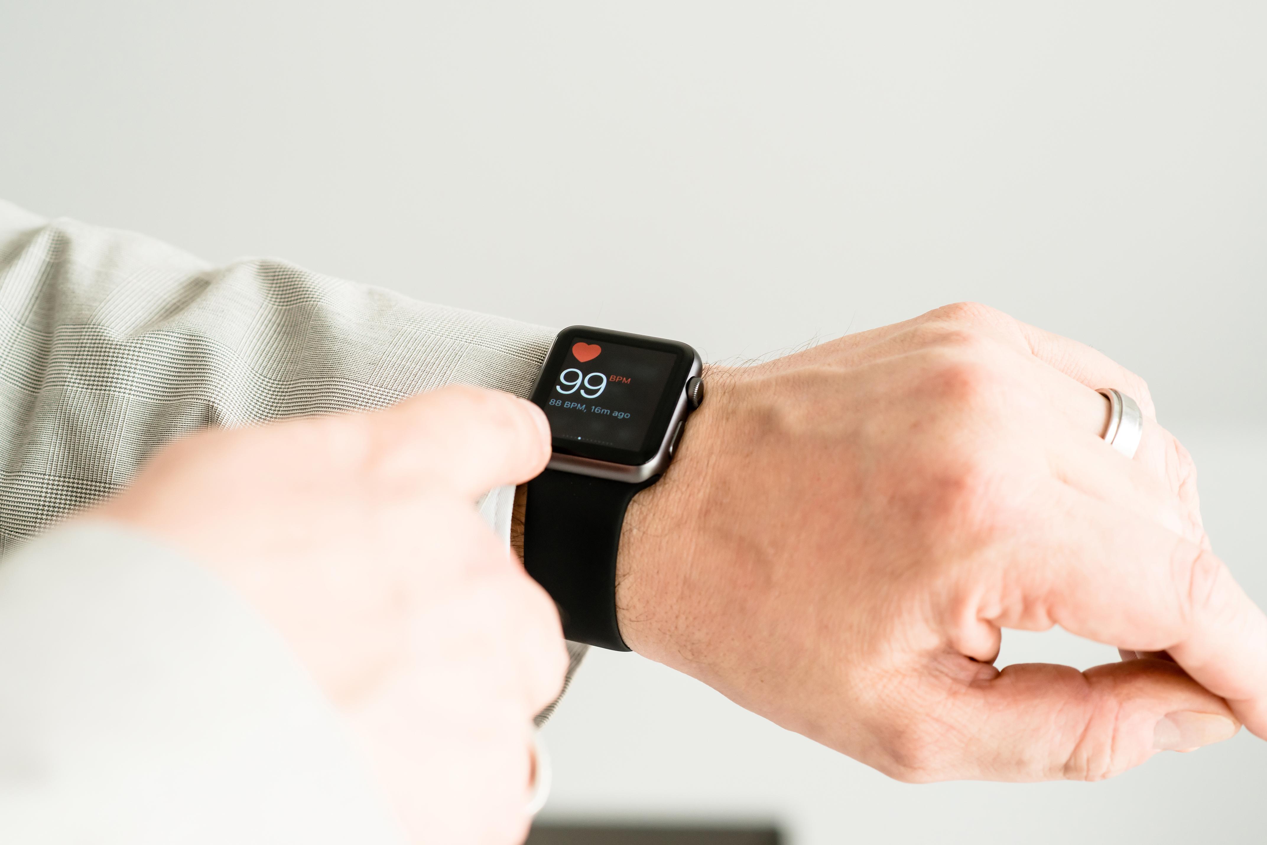 Den tolfte september förväntas Apple släppa en ny version av Watch som ryktas ha bättre möjligheter att bland annat upptäcka oregelbunden hjärtrytm.