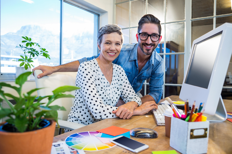 Prata om semestern, prata om att vara tillbaka på jobbet - dela erfarenheter och tankar och hur man ska få jobbstarten att kännas rolig.