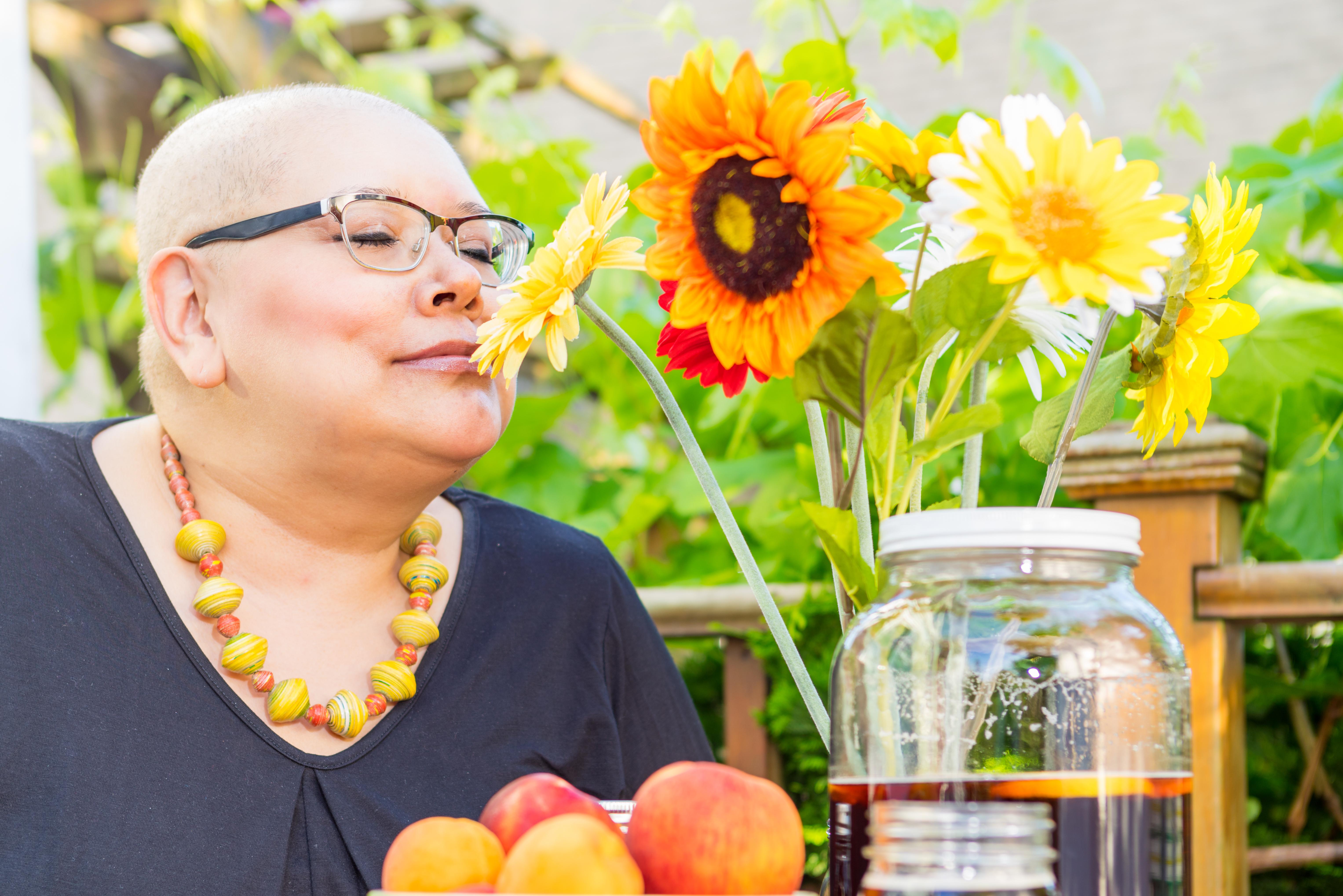 Det är inte ovanligt att cancertumören påverkar aptiten negativt och att upplevelsen av såväl smak som doft förändras.
