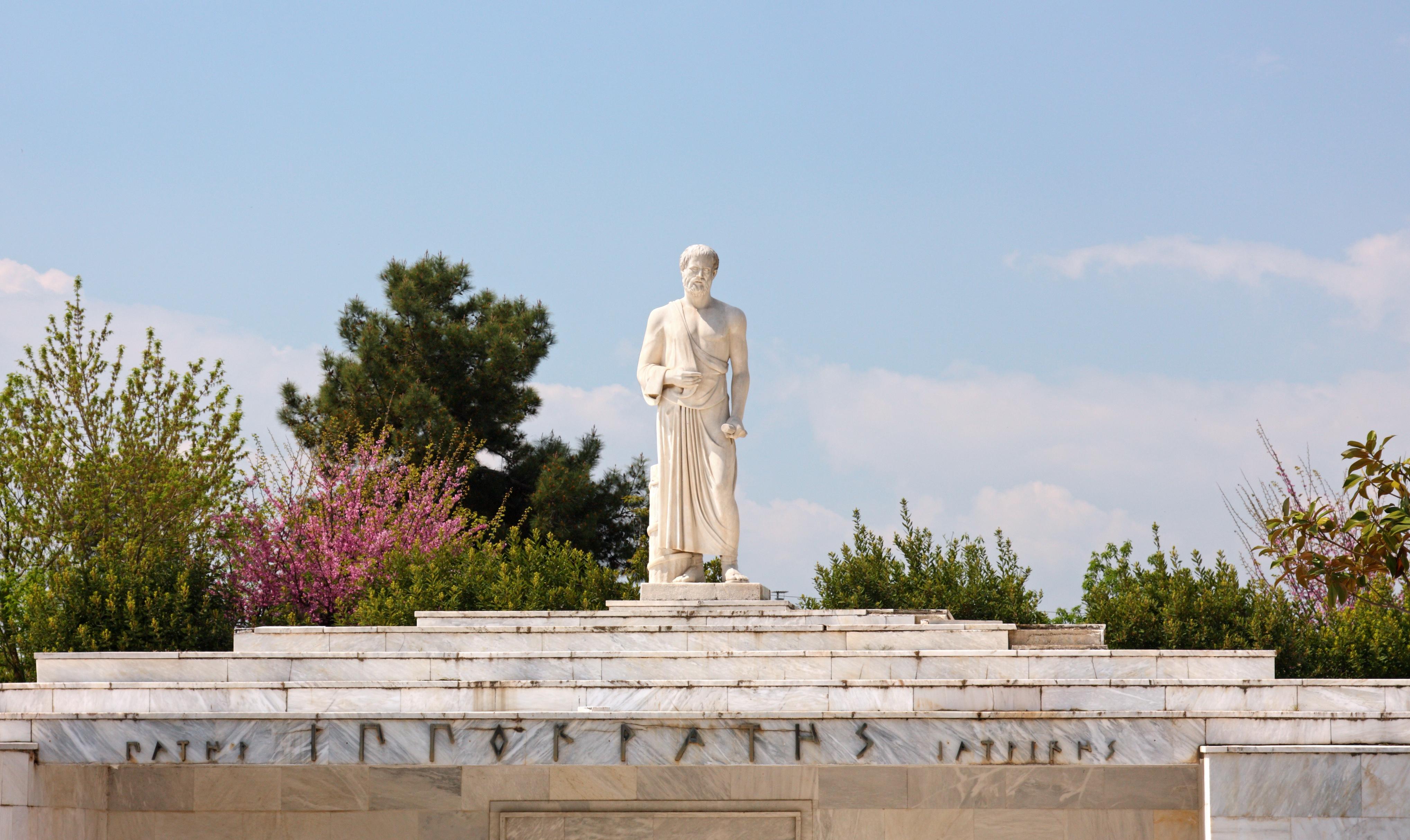 Arvet från de gamla grekerna och främst Hippokrates, läkekonstens fader, är levande även i dagens medicin.