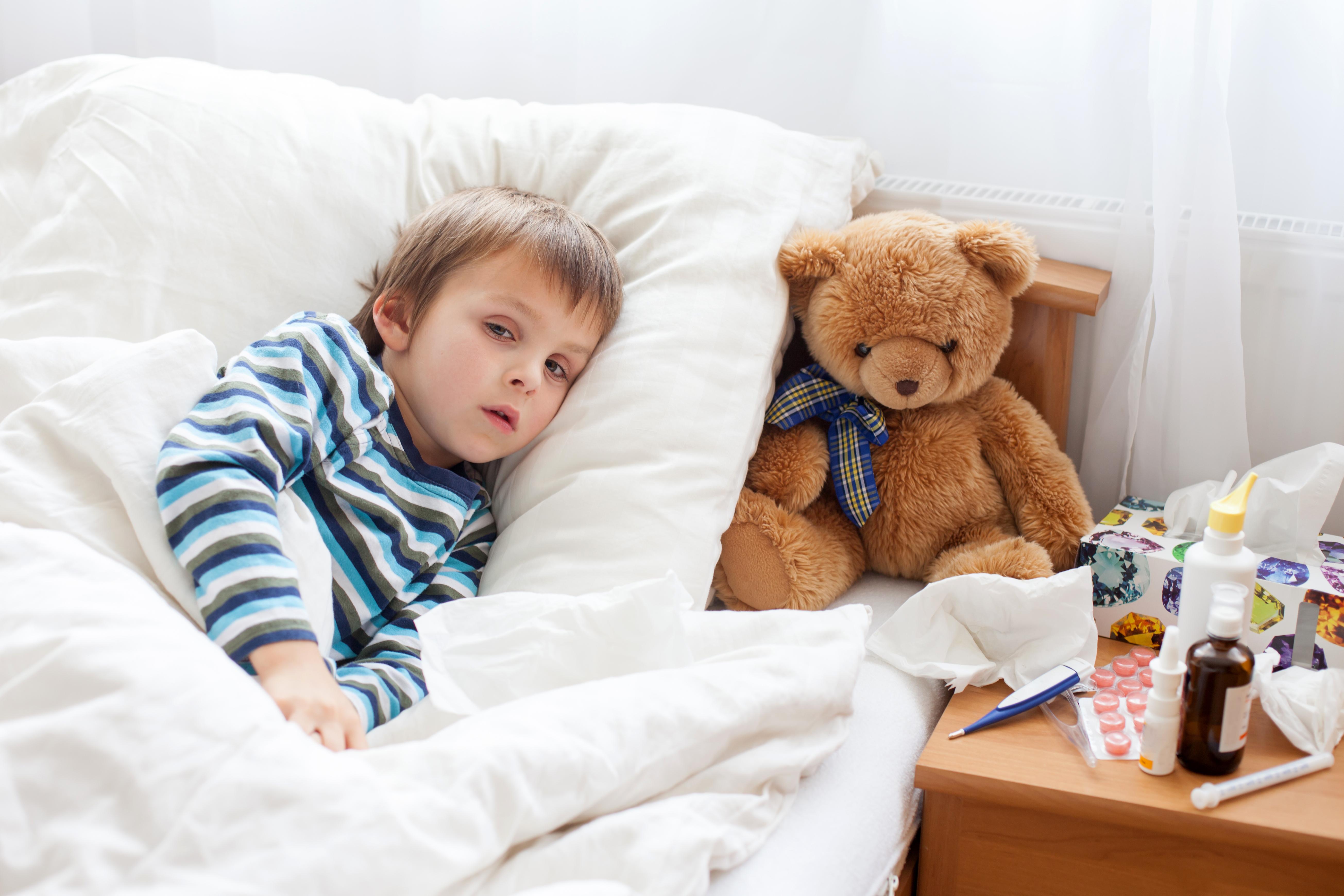Om ett barn i en familj har springmask så smittas ofta hela familjen.