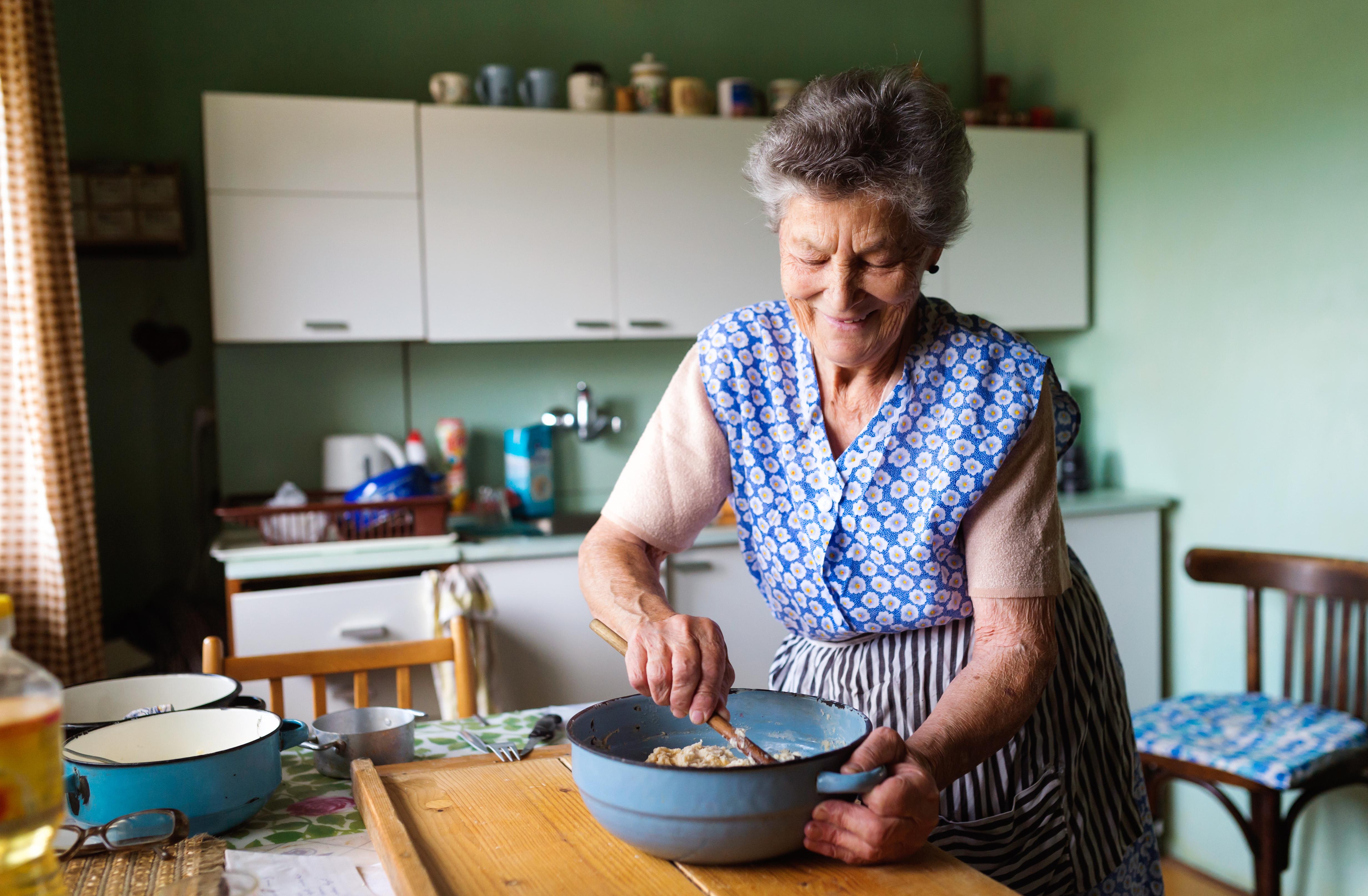 Äldre behöver mer protein och D-vitamin än andra vuxna.